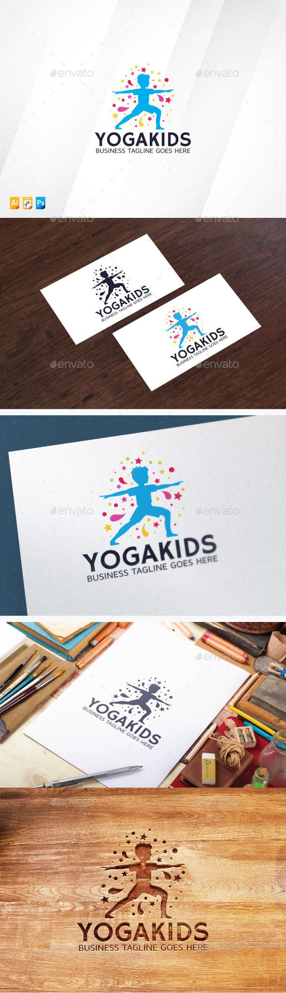 Yoga Kids Logo
