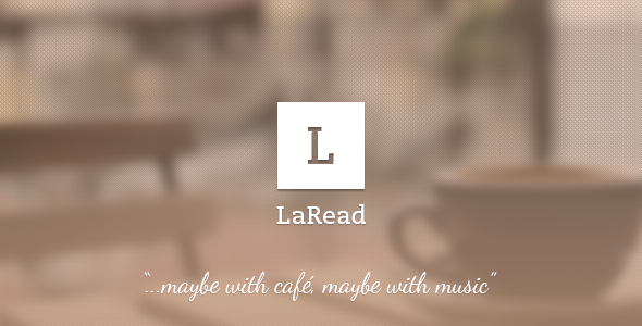 LaRead - Blog Template