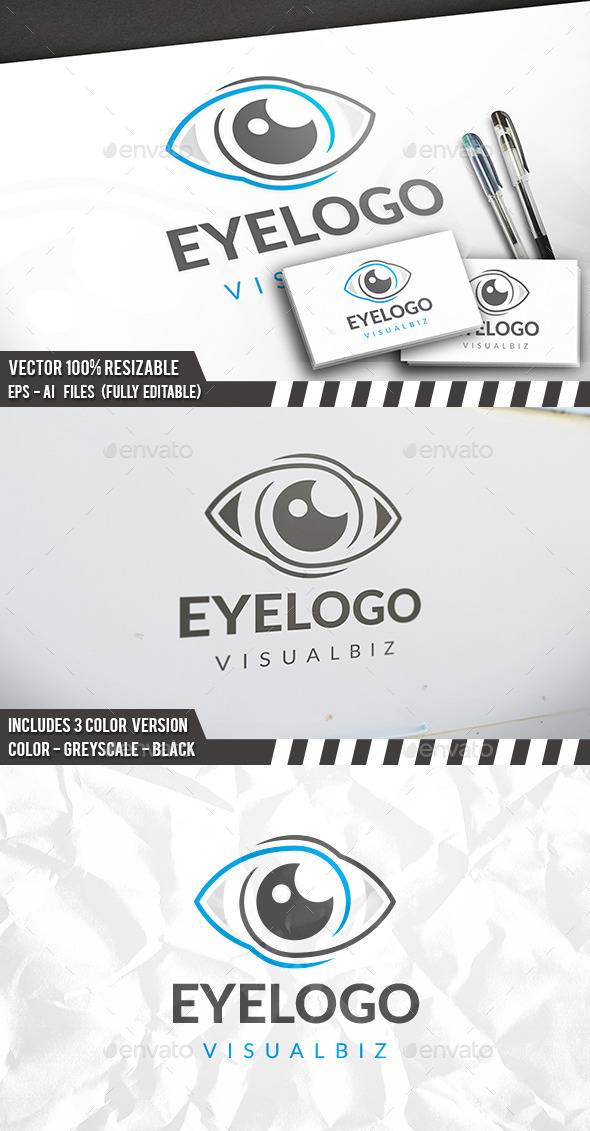 Eye Logo Template - Symbols Logo Templates