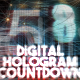 Digital Hologram Countdown - VideoHive Item for Sale