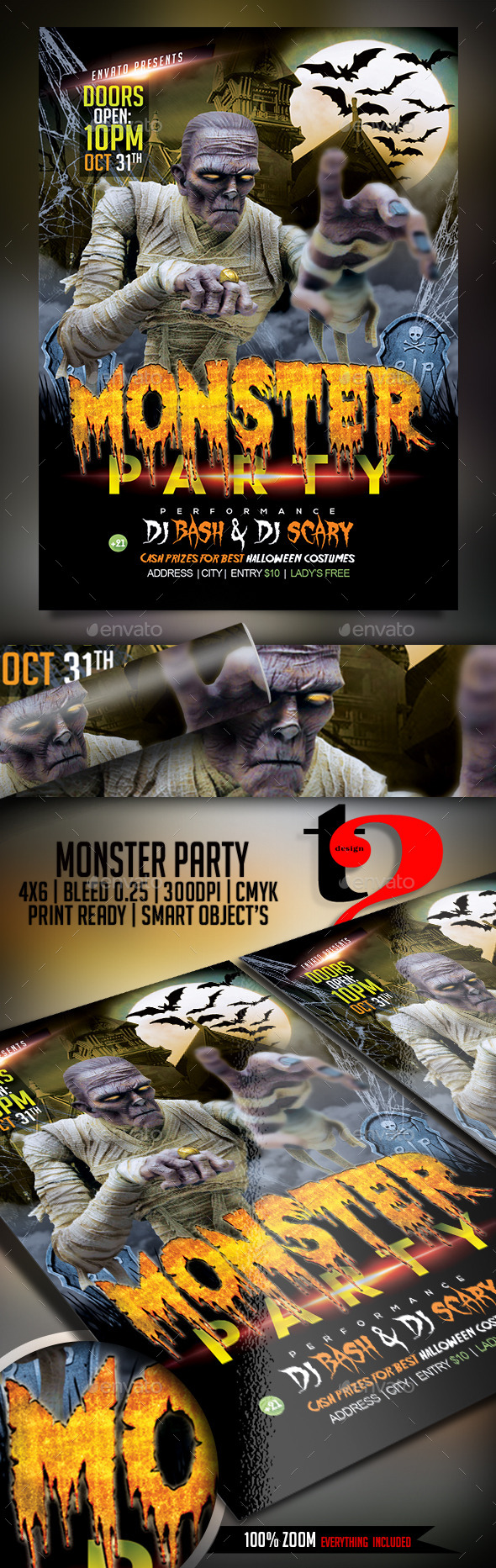 Monster Party-Halloween Celebration