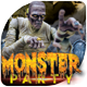 Monster Party-Halloween Celebration - GraphicRiver Item for Sale
