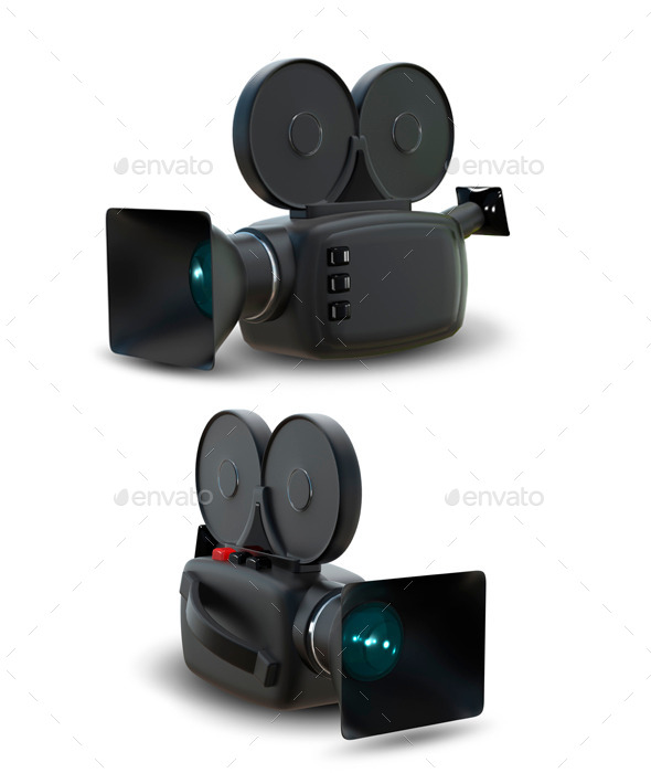 Camcorder - Technology 3D Renders