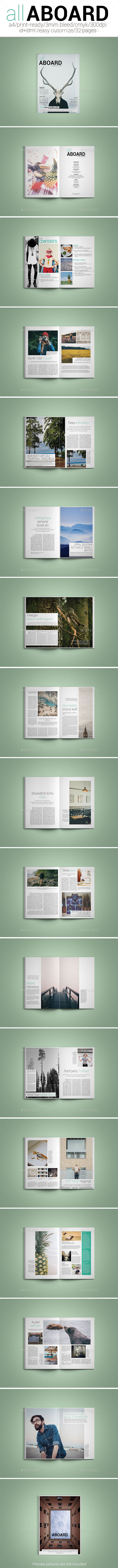All Aboard Magazine - Magazines Print Templates