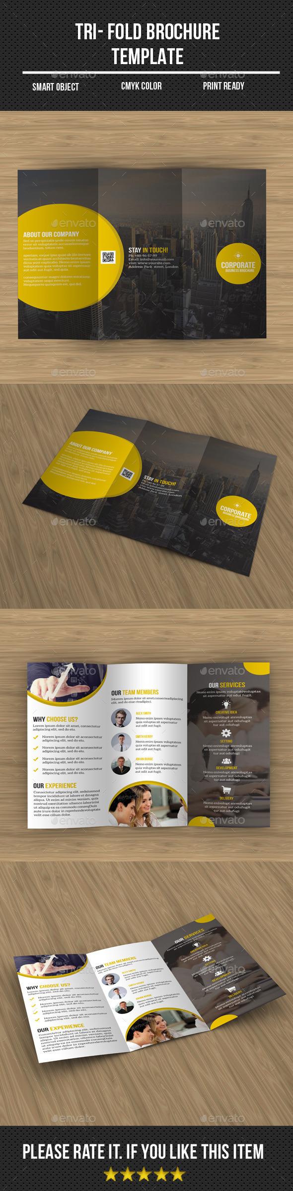 Corporate Tri- Fold Brochure - Corporate Brochures
