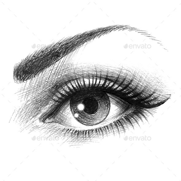 Eye of a Woman - People Characters