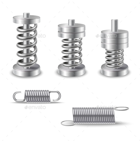 Realistic Metal Springs Devices - Technology Conceptual