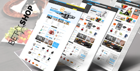Betashop – Kitchen Appliances HTML Template