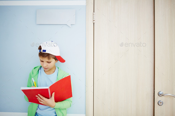 Writing down idea - Stock Photo - Images