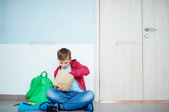 Time for a snack - Stock Photo - Images