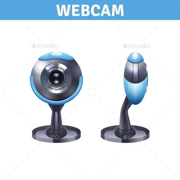 Webcam Realistic Design  - Technology Conceptual
