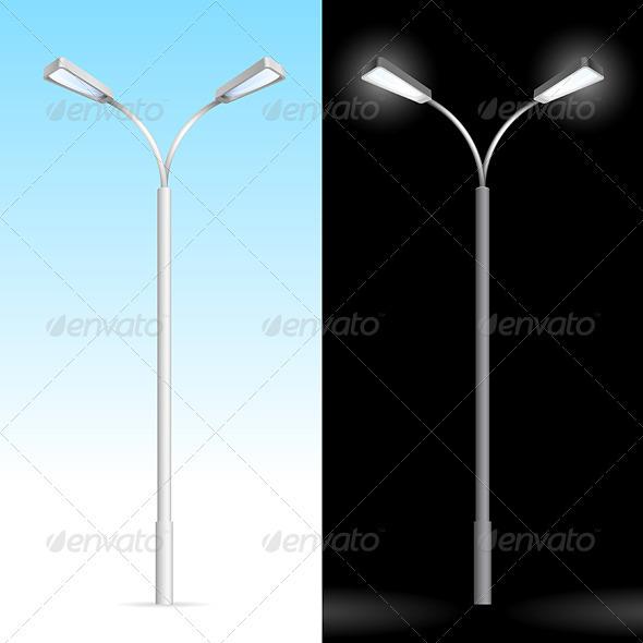 Streetlight - Characters Vectors