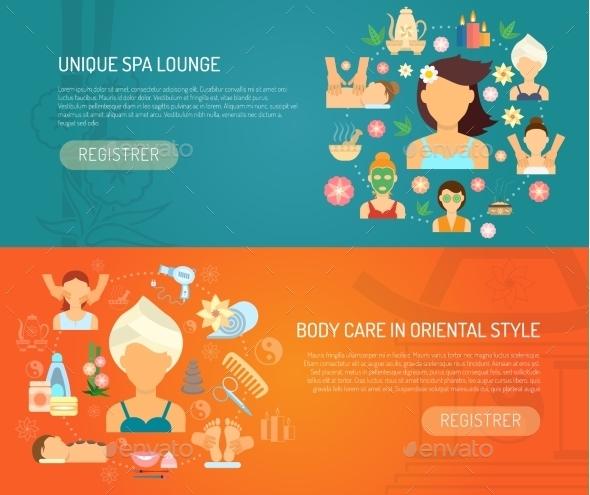 Spa Banner Horizontal - Health/Medicine Conceptual