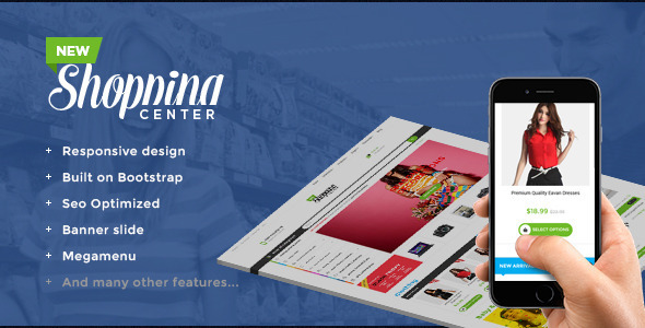 Image of Ap Shopping Center- Responsive Shopify Theme