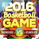 Basketball Event Flyer Templates - GraphicRiver Item for Sale
