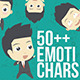 50+ Emotichars Businessman Version - GraphicRiver Item for Sale