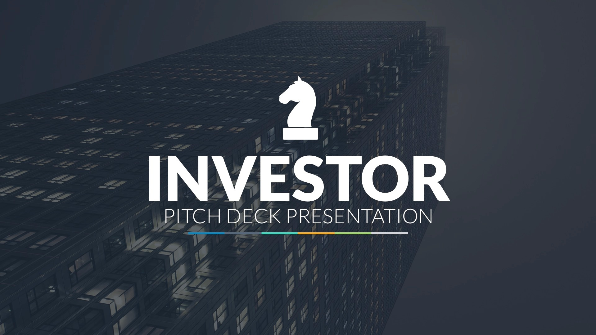 Investor Pitch Deck PowerPoint Template By LouisTwelveDesign - Investor packet template