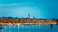 Embankment In Stockholm At Summer Day, Sweden - PhotoDune Item for Sale