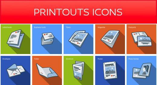 Printouts icons