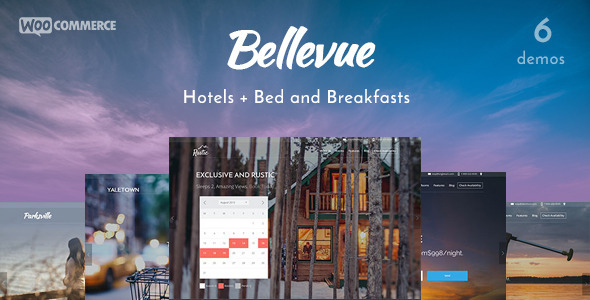 Bellevue – Hotel + Bed & Breakfast Booking Theme