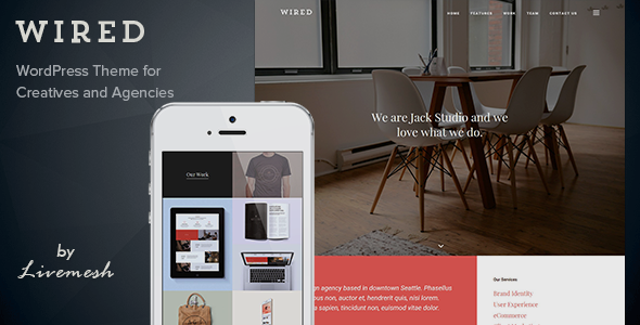 Wired – Multi-Purpose Portfolio WordPress Theme