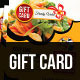 Food Coupon / Gift Card - GraphicRiver Item for Sale