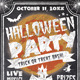 Chalk Halloween Flyer - GraphicRiver Item for Sale
