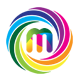 Media Letter M Logo - GraphicRiver Item for Sale