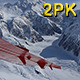 Two Views of Denali from a Plane - VideoHive Item for Sale