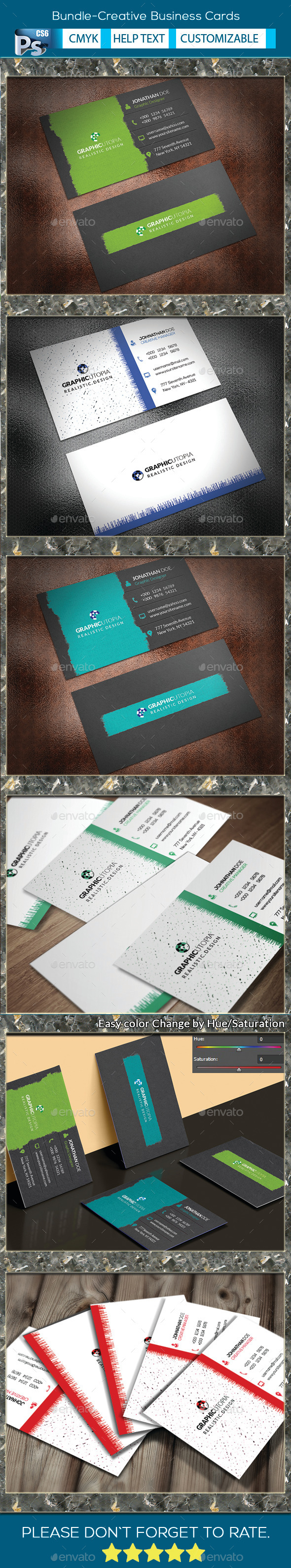 Bundle-Creative Business Cards