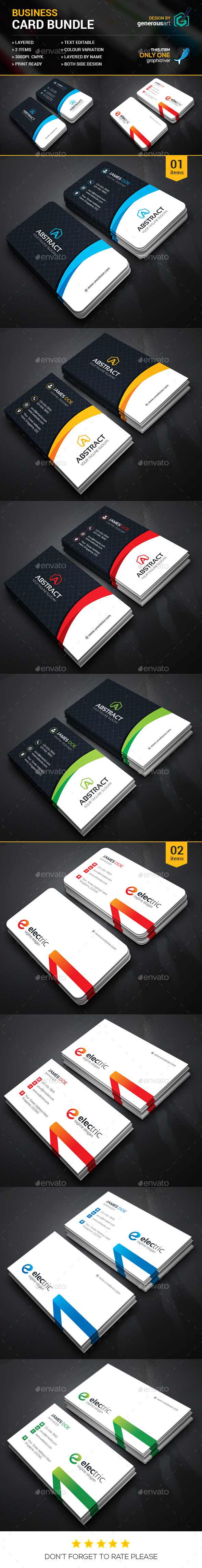 Business Card Bundle 2 in 1 11