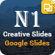 N1 Multipurpose Google Slides Presentation Templat - GraphicRiver Item for Sale