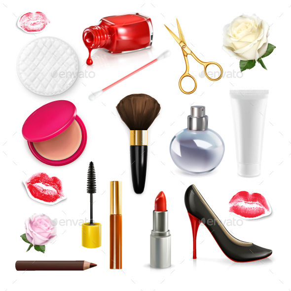Womens Cosmetics and Accessories