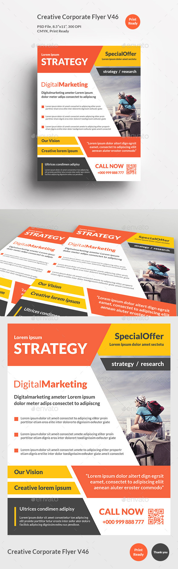 Creative Corporate Flyer V46