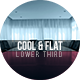 Cool & Flat Lower Third - VideoHive Item for Sale