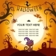 Halloween Card with Cat - GraphicRiver Item for Sale