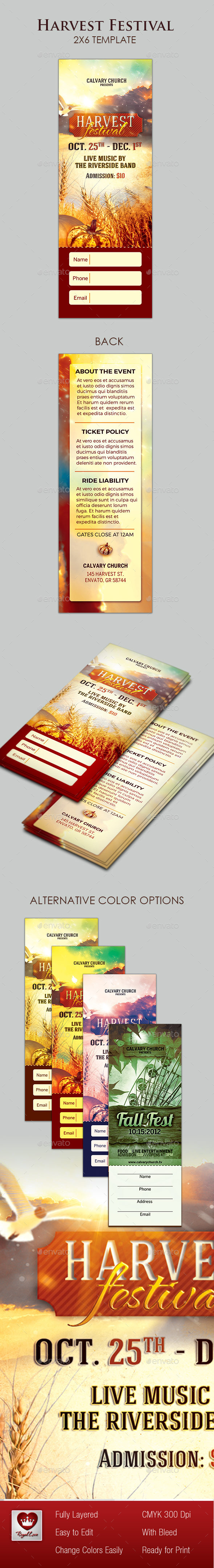 Harvest Festival Ticket  - Miscellaneous Events