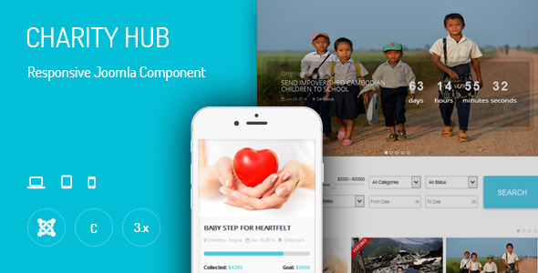 Charity Hub - Joomla Donation Extension - CodeCanyon Item for Sale