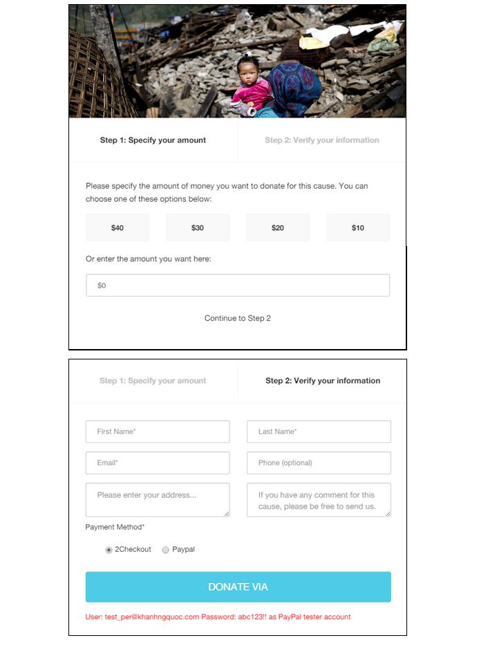 Charity hub joomla donation extension by juxtheme codecanyon screenshotdonation formg altavistaventures Images