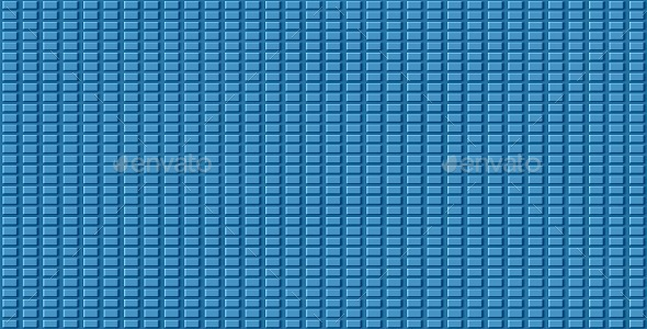 Floor Tile Blue Grid Texture