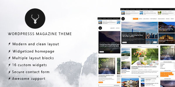 Vaga – WordPress Magazine and Blog Theme