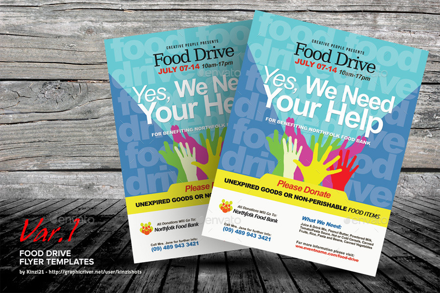 Screenshots/01_graphic River Food Drive Flyer Templates Kinzishots ...  Can Food Drive Flyer Template