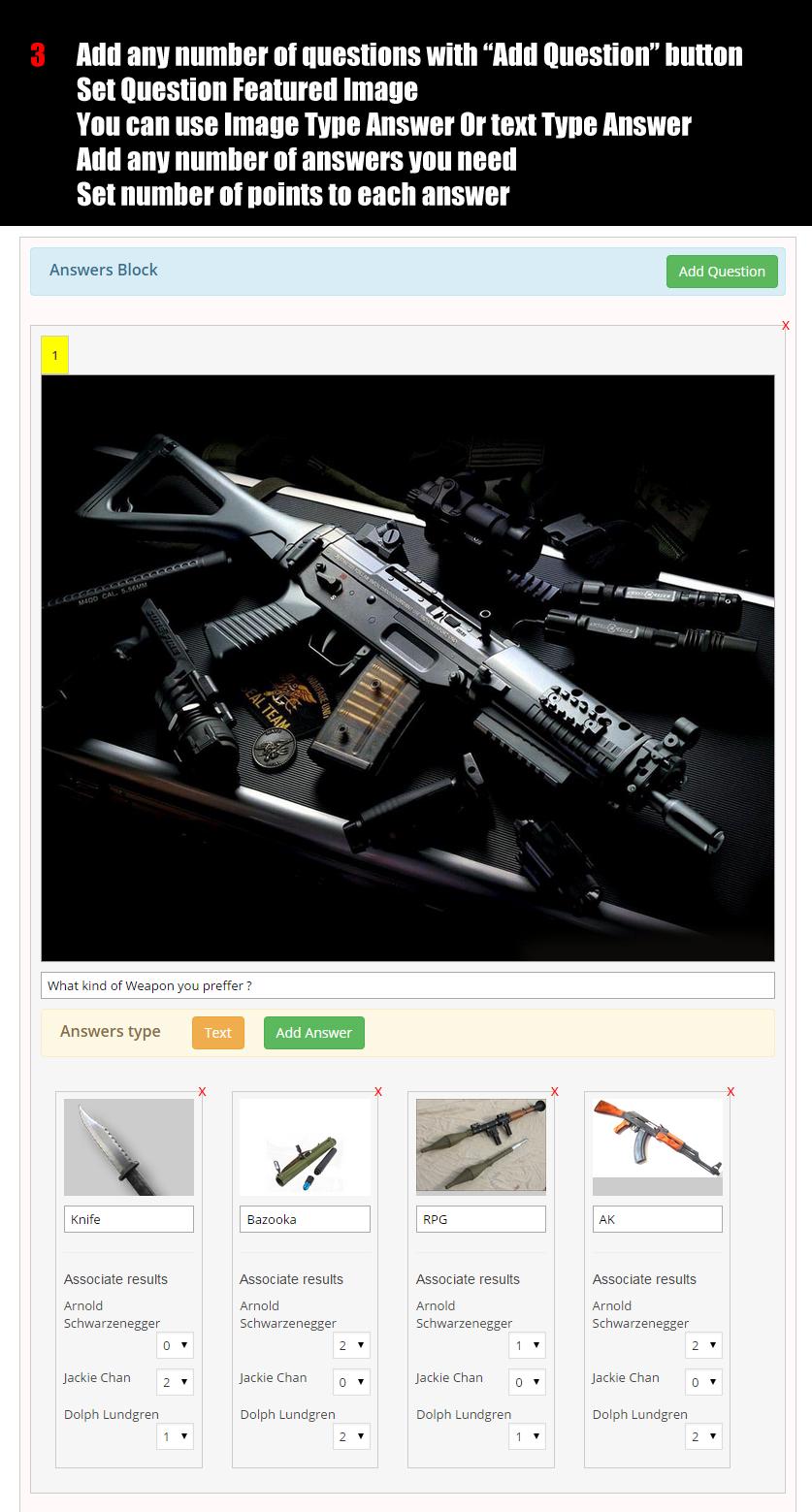 Wordpress buzzfeed style quiz plugin by evgendob codecanyon for Home decor quiz buzzfeed
