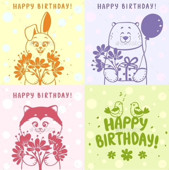 Card Set - Birthdays Seasons/Holidays