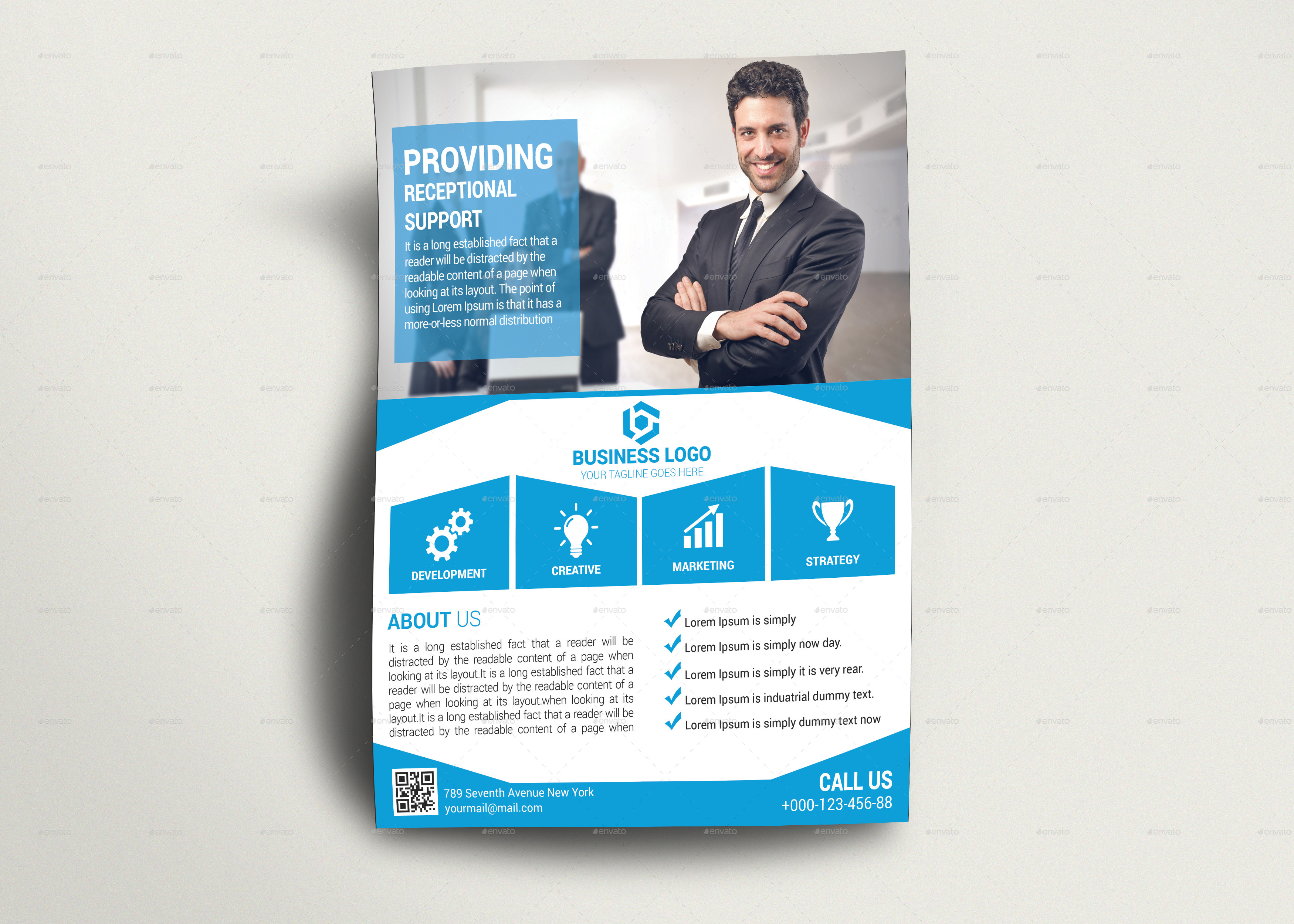corporate business flyer design 1 by murtalawork