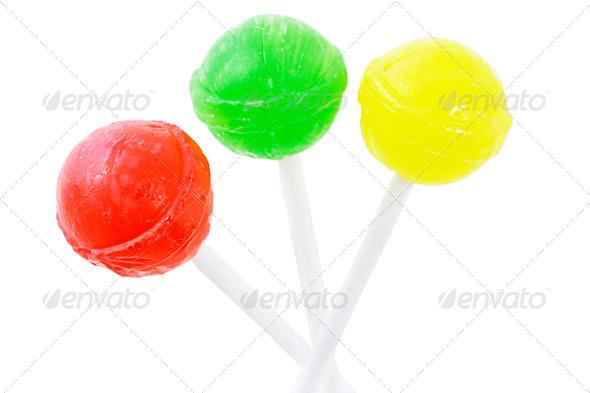 Three lollipops - Stock Photo - Images