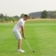Young Man Playing Golf - VideoHive Item for Sale
