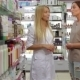 Beautiful Girl Pharmacist Consulting a Customer - VideoHive Item for Sale