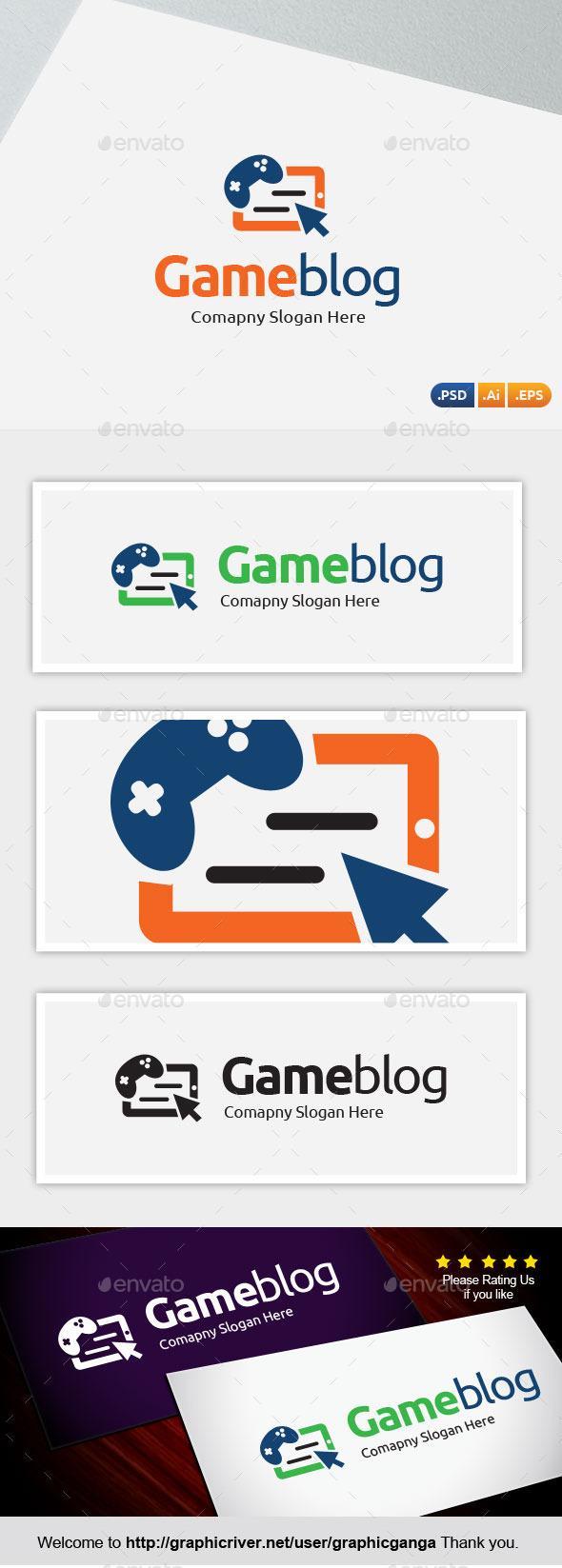 Game blog - Abstract Logo Templates