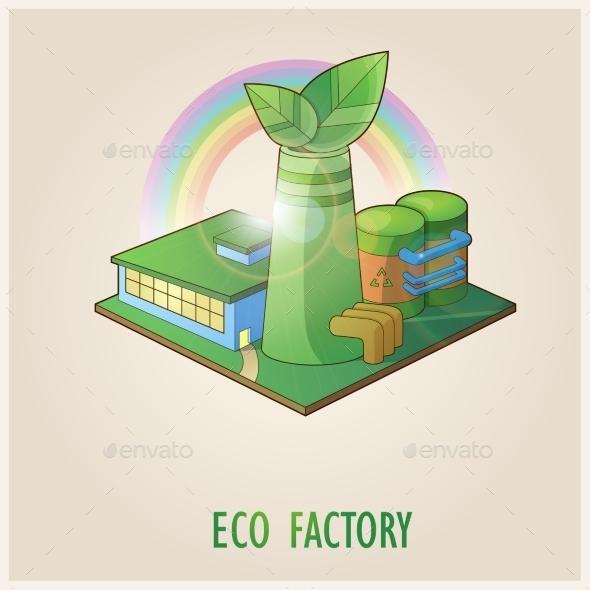 Eco Factory - Miscellaneous Vectors